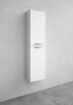 Noro Flex Compact Vogue högskåp, djup: 20 cm, vit matt