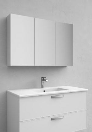 Noro Flex spegelskåp, 100 cm, matt vit