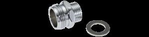 Mora Armatur Övergångsnippel G3/4-G½ utv med koppling