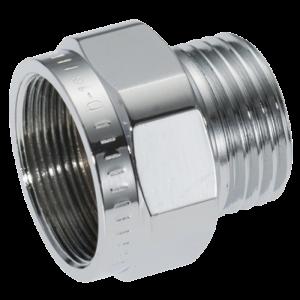 Mora Armatur 632437 Koppling R 16-systemet Krom