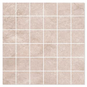 Marmor Mosaik Klinker Elegant Beige Matt 30x30