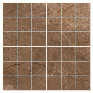 Marmor Mosaik Klinker Elegant Brun Polerad 30x30