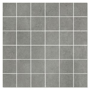 Mosaik Klinker Luna Mörkgrå Matt 30x30