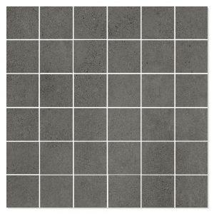 Mosaik Klinker Luna Svart Matt 30x30
