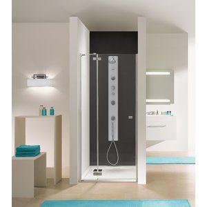 Duschdörr Free Line - 6mm glas