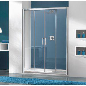 Duschdörr Wide TX - 5mm glas