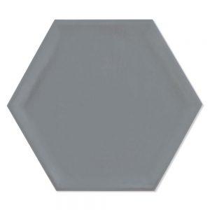 Hexagon Klinker Luxe Basic Grå Matt 20x23 cm