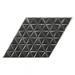 Kakel Diamond Svart Mönstrad2 40x70 cm