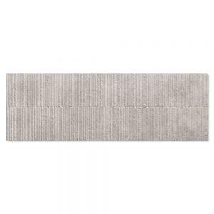 Kakel Habitat Grå Matt-Relief 40x120 cm
