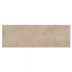 Kakel Habitat LjusBrun Matt-Relief 40x120 cm