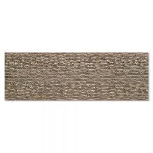 Kakel Minerve Brun Matt-Relief 40x120 cm