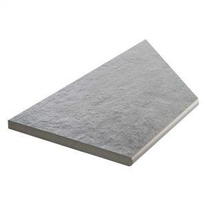 Klinker Bricmate Z Concrete Anthracite Inner Corner Left 30x60 cm
