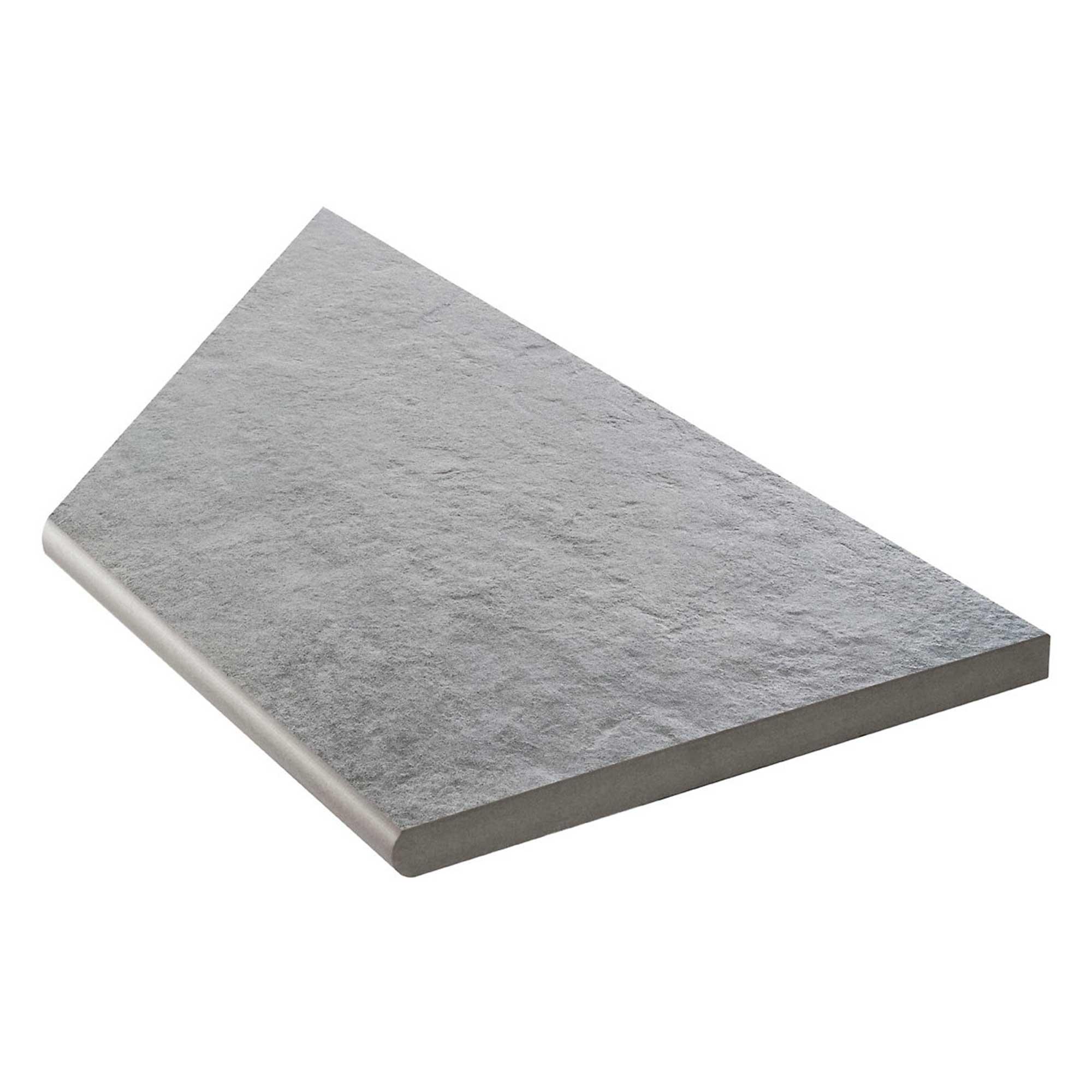 Klinker Bricmate Z Concrete Anthracite Inner Corner Right 30x60 cm