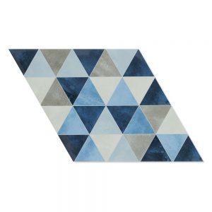 Klinker Diamond Blå 40x70 cm