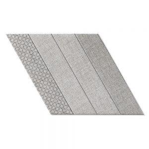 Klinker Diamond Grå Vänster 40x70 cm
