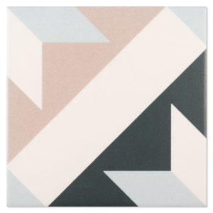 Klinker Fontenay Trianon Flerfärgad Matt 15x15 cm