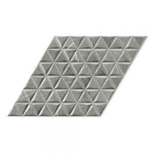 Marmor Klinker Diamond Grå Mönstrad2 40x70 cm