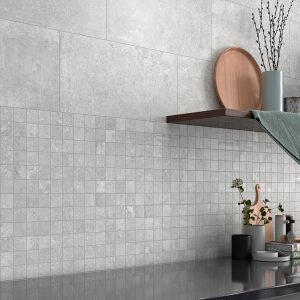 Mosaik Klinker Semproniano Grå Matt 30x30