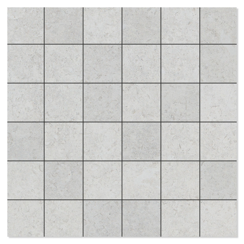 Mosaik Klinker Semproniano Ljusgrå Matt 30x30