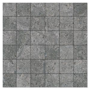 Mosaik Klinker Semproniano Mörkgrå Matt 30x30