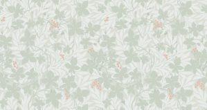 Duro Tapet Spira Vinbärsblad Grön
