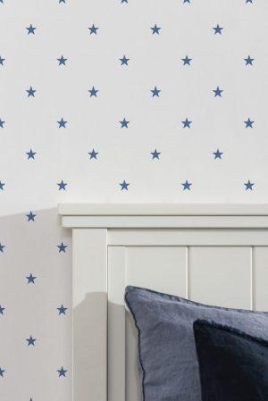 Duro Tapet Star Blå
