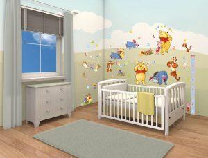 Walltastic Väggdekor Disney Winnie the Pooh