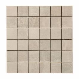 Concrete Dark Grey Mosaik Nordic kakel Grå