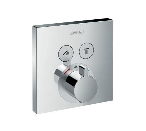 Hansgrohe ShowerSelect duschblandare med termostat   omkastare 561374f8d6413