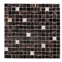 Mosaik Brun White Touch Nordic kakel Brun