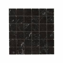 Mosaik Carrara Black Gani Svart